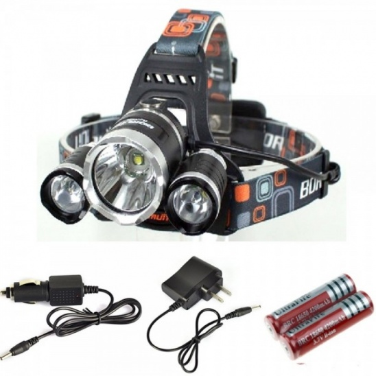 high_power_led_headlight_boruit_rj-3000_3000-lumen_3xcree_xm-l_t6_4_mode_light_rechargeable_218650_waterproof_headlamp_with_battery_charger_car_charger_218650_battery_3_
